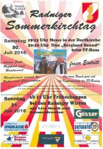Plakat Sommerkirchtag